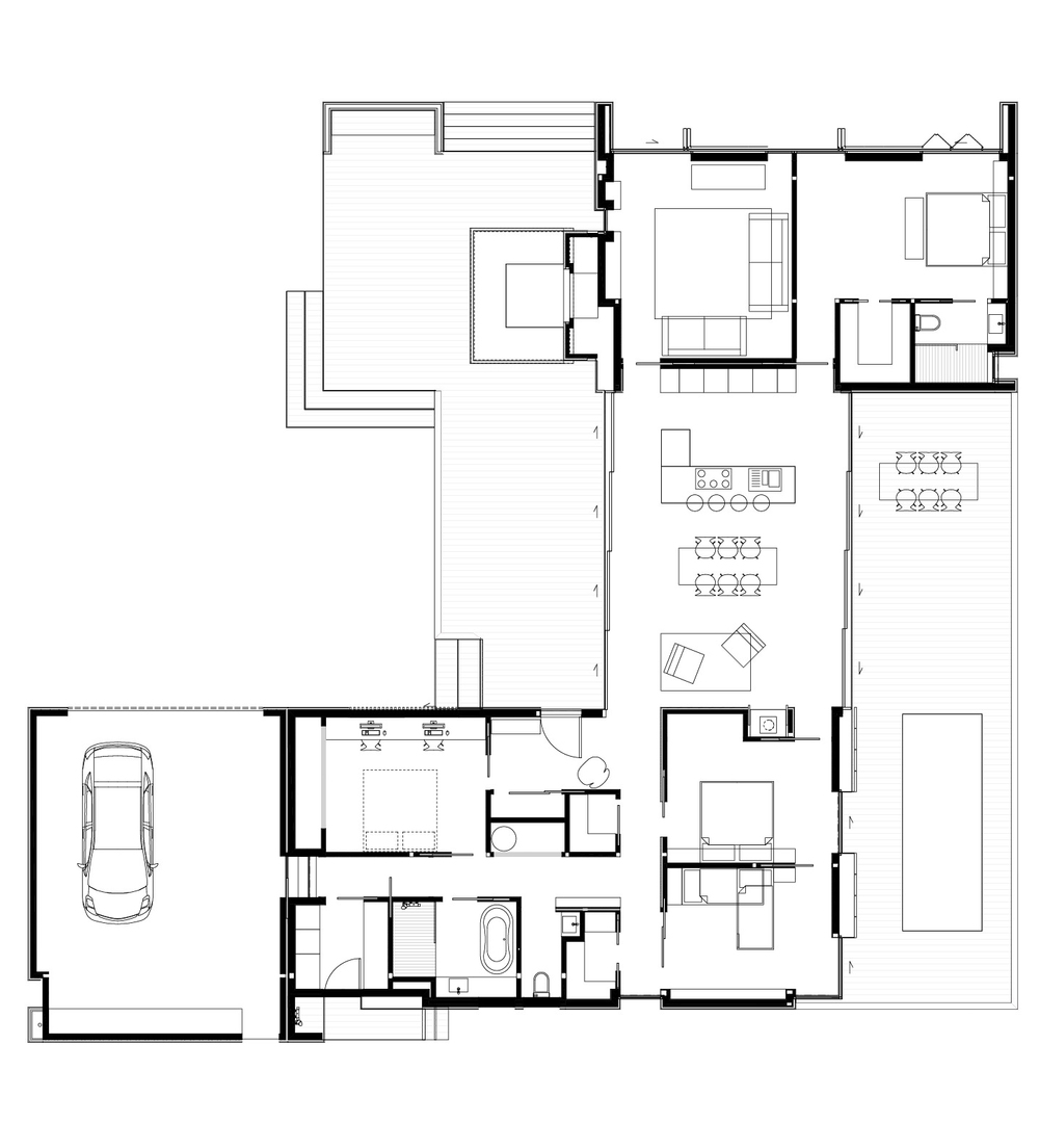 LiteGreen Concept House - Ground Floor Plan