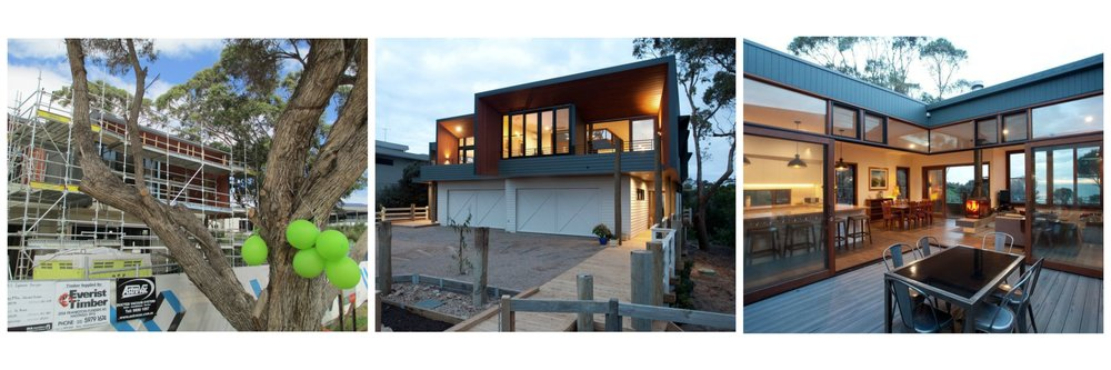 Our first multi unit development, on the Mornington Peninsula east of Melbourne.