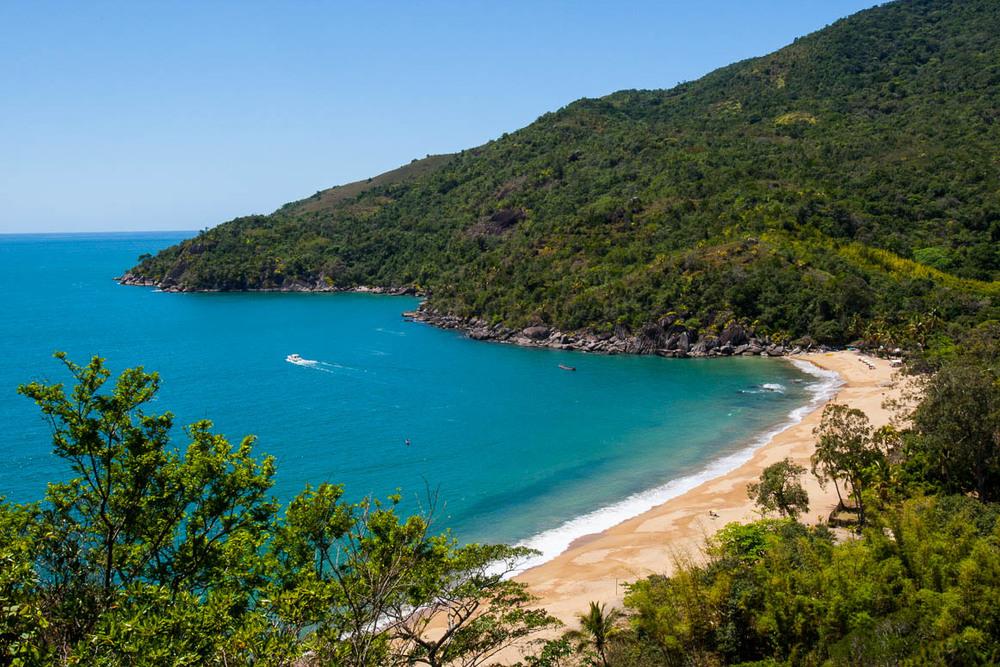 Praia do Jabaquara, Ilha Bela