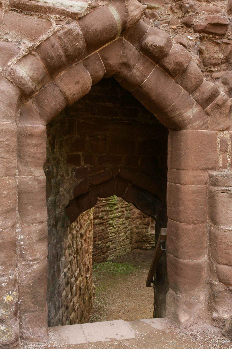 Goodrich Castle, Herefordshire