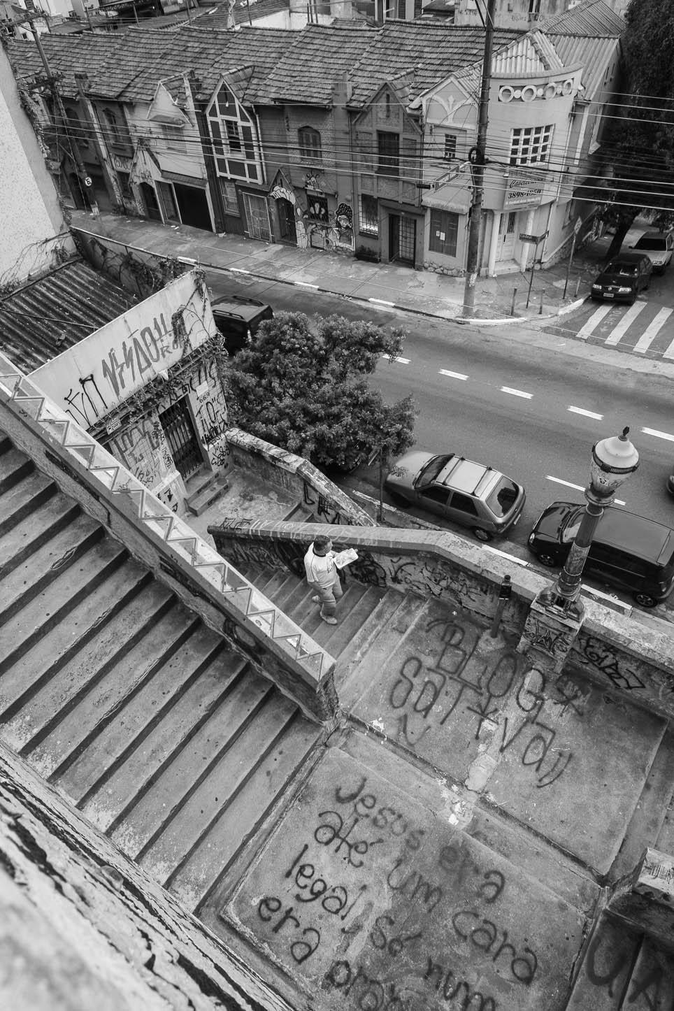 Escadaria da rua Cardeal Arco Verde
