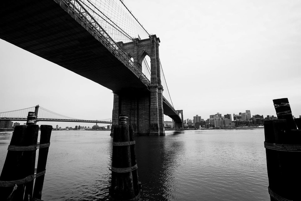 New York City.Brooklyn Bridge