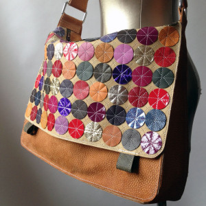messenger bag by Cate Carter-Evans