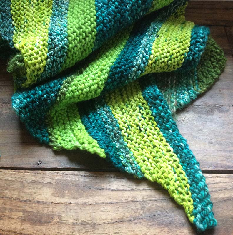 Blue Heaven Scarf by Cate Carter-Evans in Gecko colorway.jpg