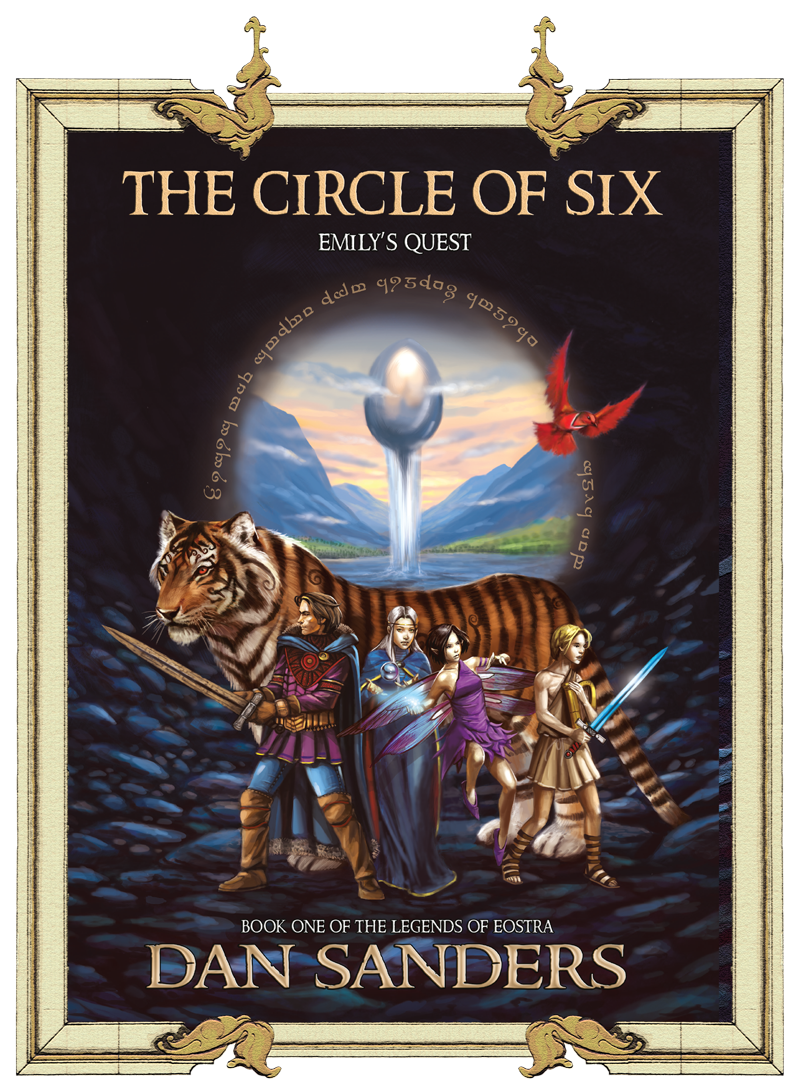 Front Cover of The Circle of Six Dan Sanders
