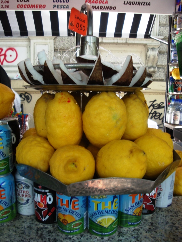 Grattachecca Lemon and Coconut Fountain.JPG