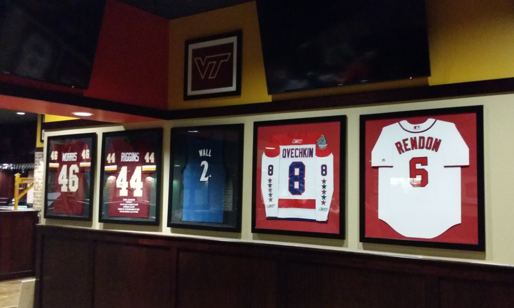 Sample Installation Space at The Green Turtle in Chantilly, Va.