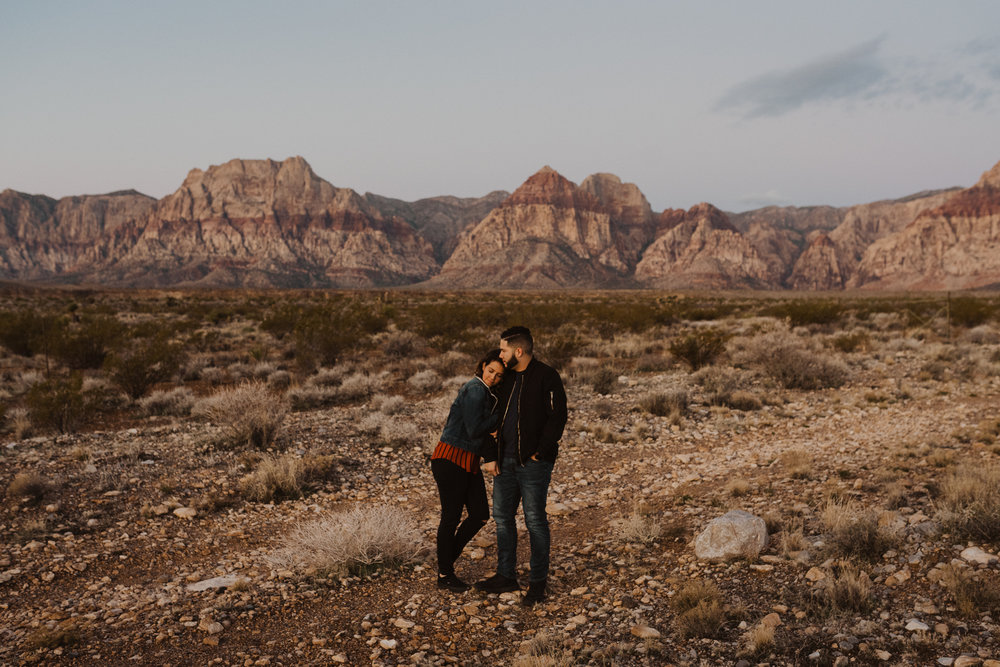 A photograph from our sunrise adventure session in Red Rock Canyon National Conservation Area.