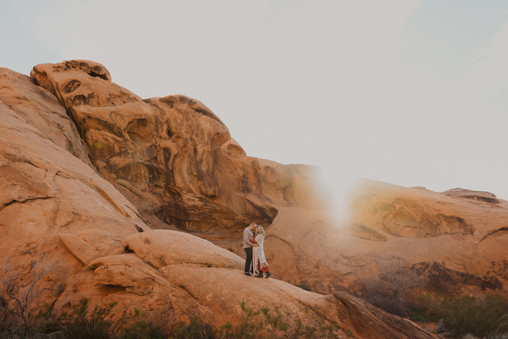 A photograph from our adventure session in Valley of Fire.