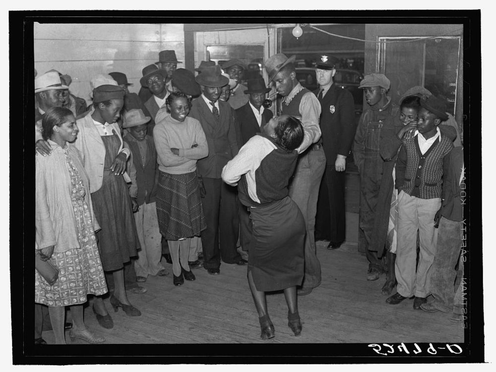 Negroes Jitterbugging in a Juke Joint on Saturday Afternoon (Clarksdale, MS) by Marion Post Wolcott, 1939