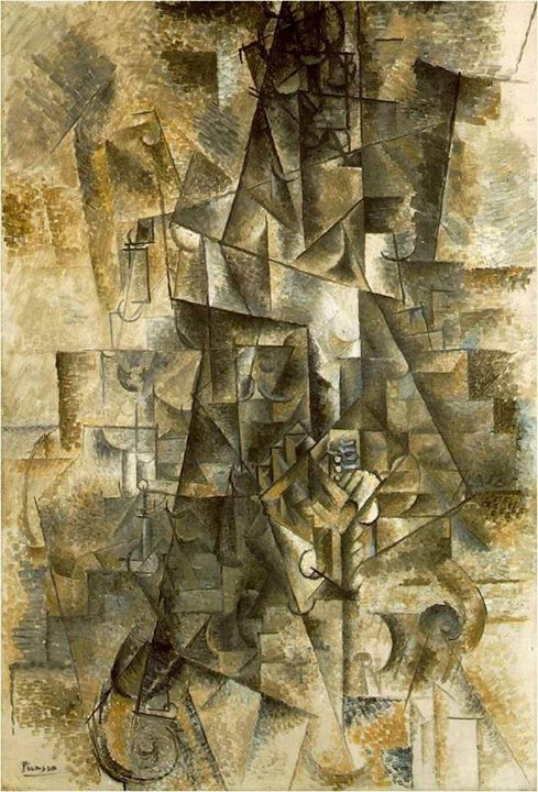 The Accordionist by Pablo Picasso, 1911