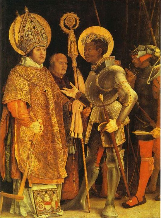 The Disputation of St. Erasmus and St. Maurice by Matthias Grunewald, 1523