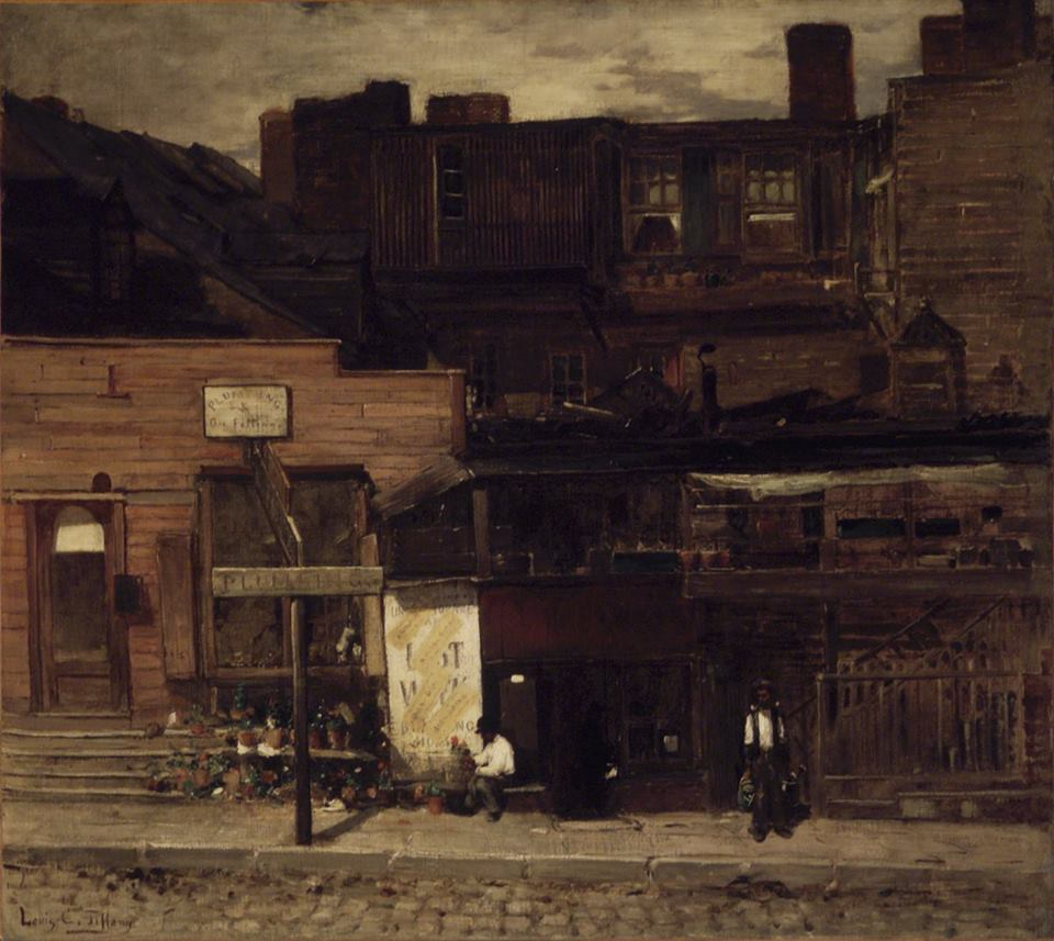 Duane Street, New York by Louis Comfort Tiffany, 1877