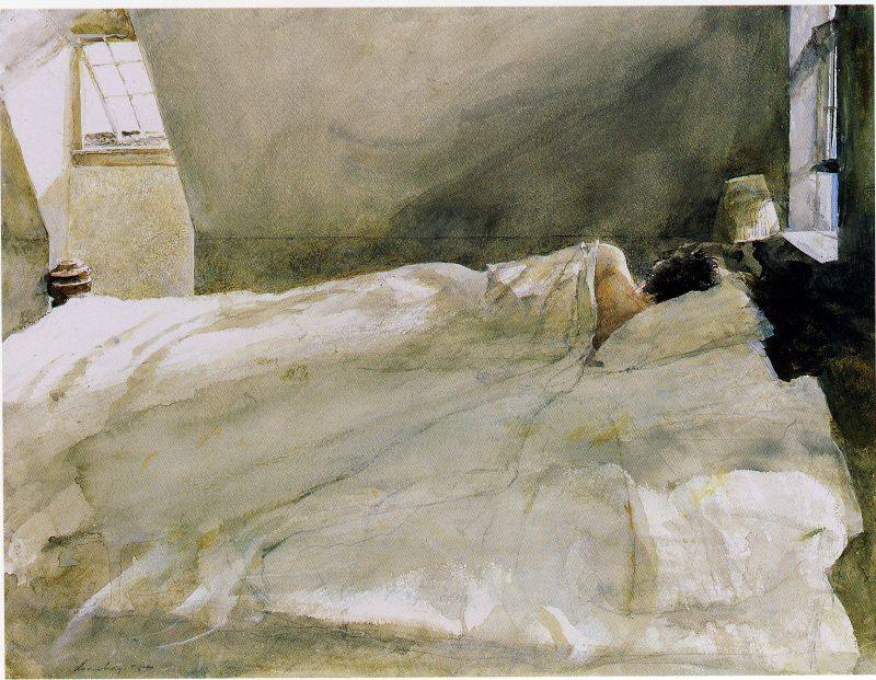 Gone Ashore by Andrew Wyeth, year unknown