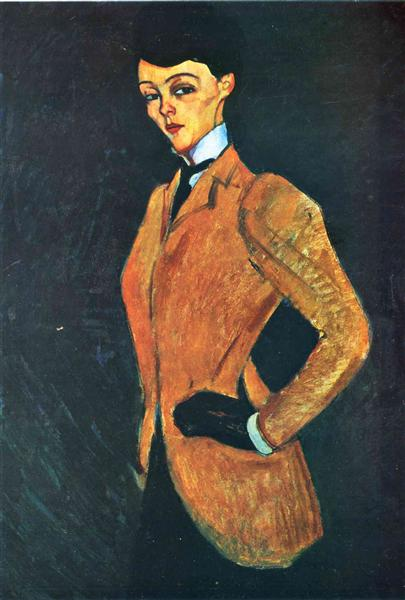 The Amazon by Amedeo Modigliani, 1909