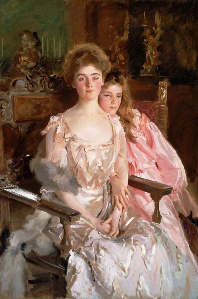 Portrait of Mrs Fiske Warren and her Daughter Rachel by John Singer Sargent, 1903