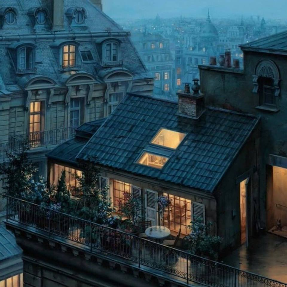 Rooftop Hideout by Evgeny Lushpin, 2016.jpg