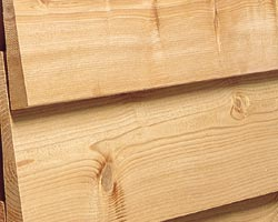 Beveled Red Cedar Siding