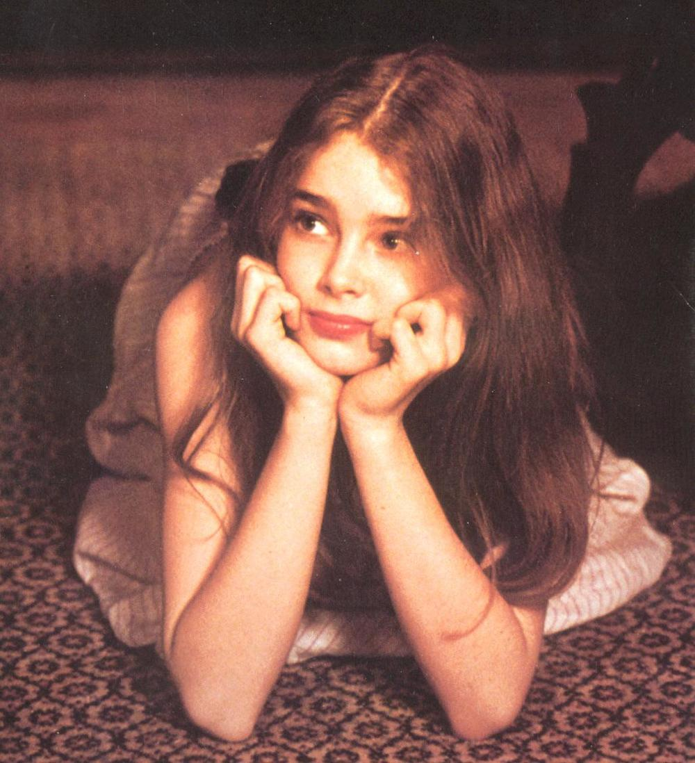 brooke shields young naked May 7 Seduced by a real life Lolita... Brooke Shields