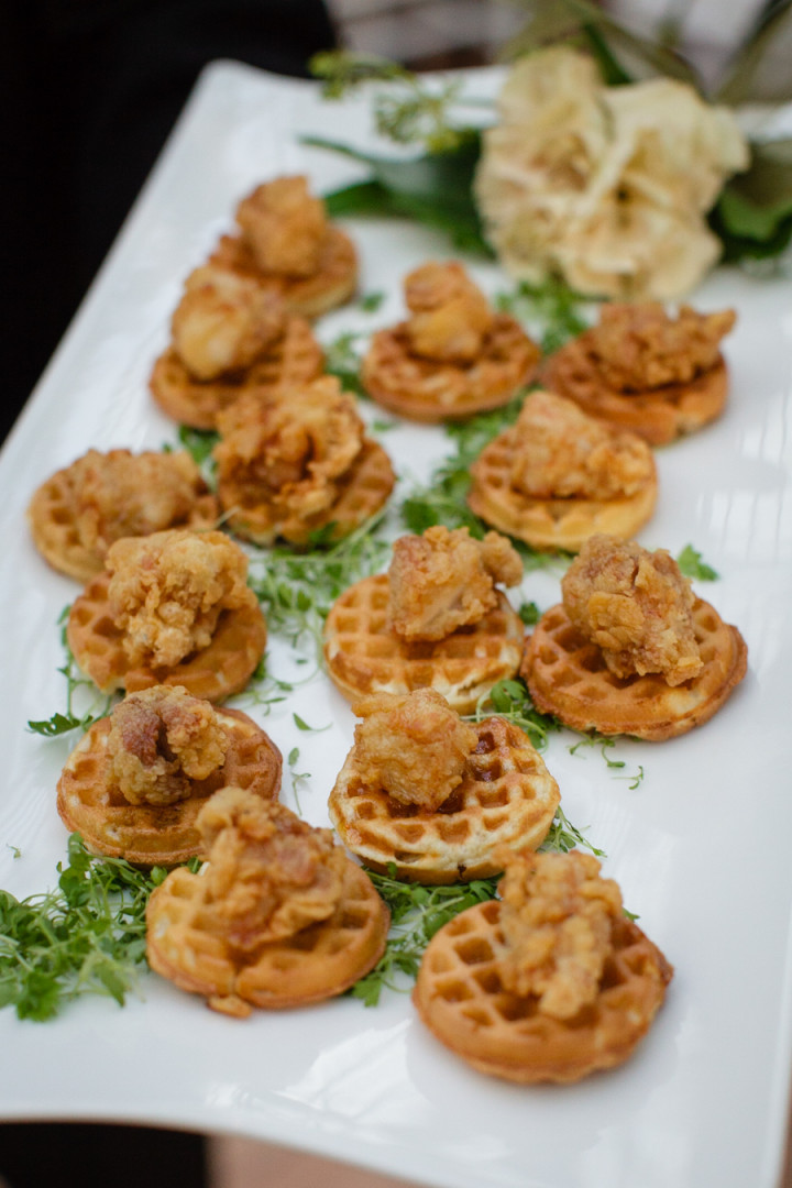 Mini Chicken and Waffles