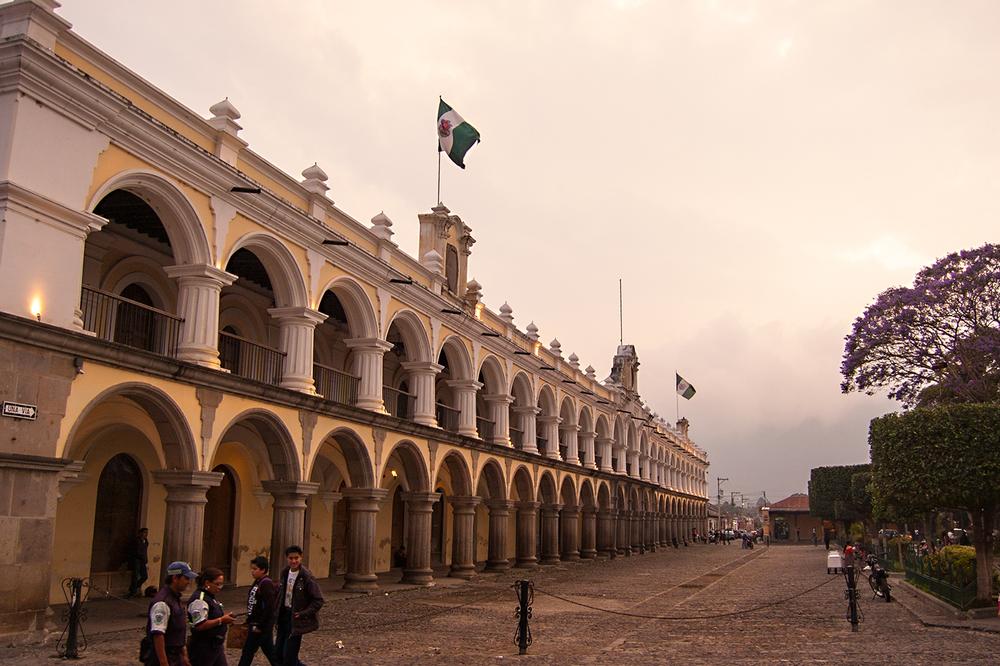 Palacio de los Capitanes Generales (Palace of the Captains-General). Dates to 1558