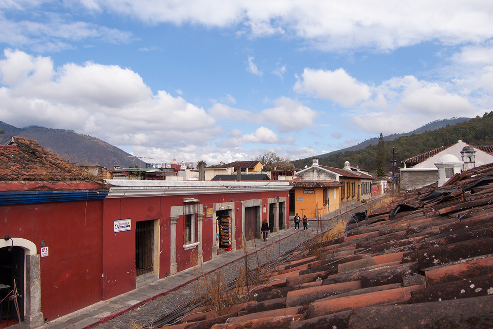 Across the rooftops, Antigua