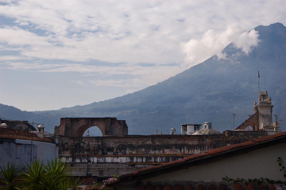 Volcán de Agua,from Antigua.