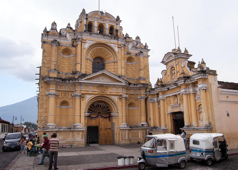Iglesia del Hospital de San Pedro, Antigua