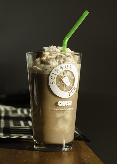Chocolate blended iced coffee using Bali Blue Moon
