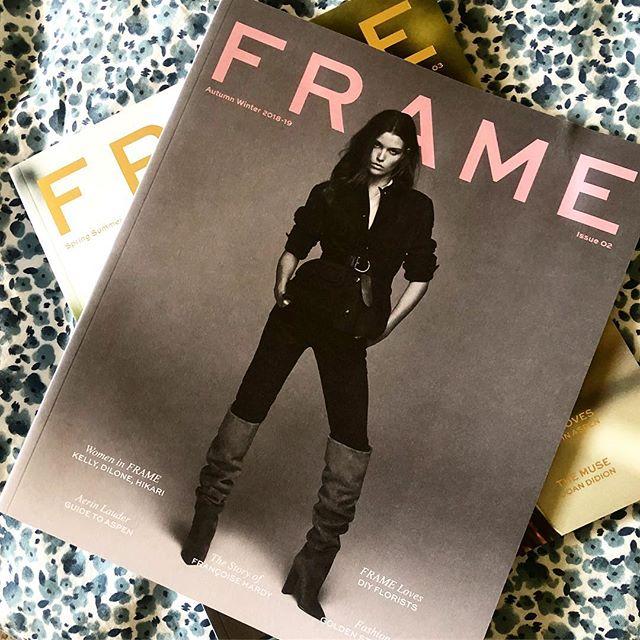 Love !!!! Great work @jensgrede @eriktorstensson @ms_katiebeth for @frame ! Available instore . . . #framedenim #denim #magazines #style