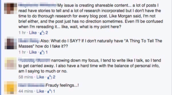 using Facebook to be persuasive in sales