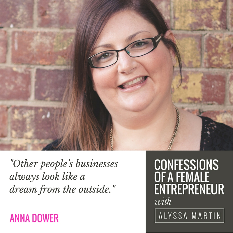 Under thinking your way to success with Anna Dower on the Confessions of a Female Entrepreneur podcast #confessionspodcast
