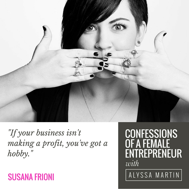 The business of love, sex & desire with Susana Frioni on the Confessions of a Female Entrepreneur podcast #confessionspodcast