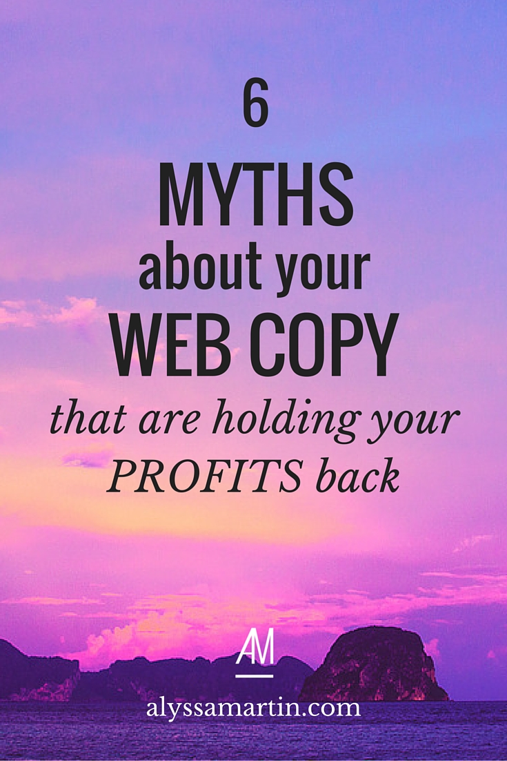 Here are 6 myths (that you probably believe) that will totally tank your website success.