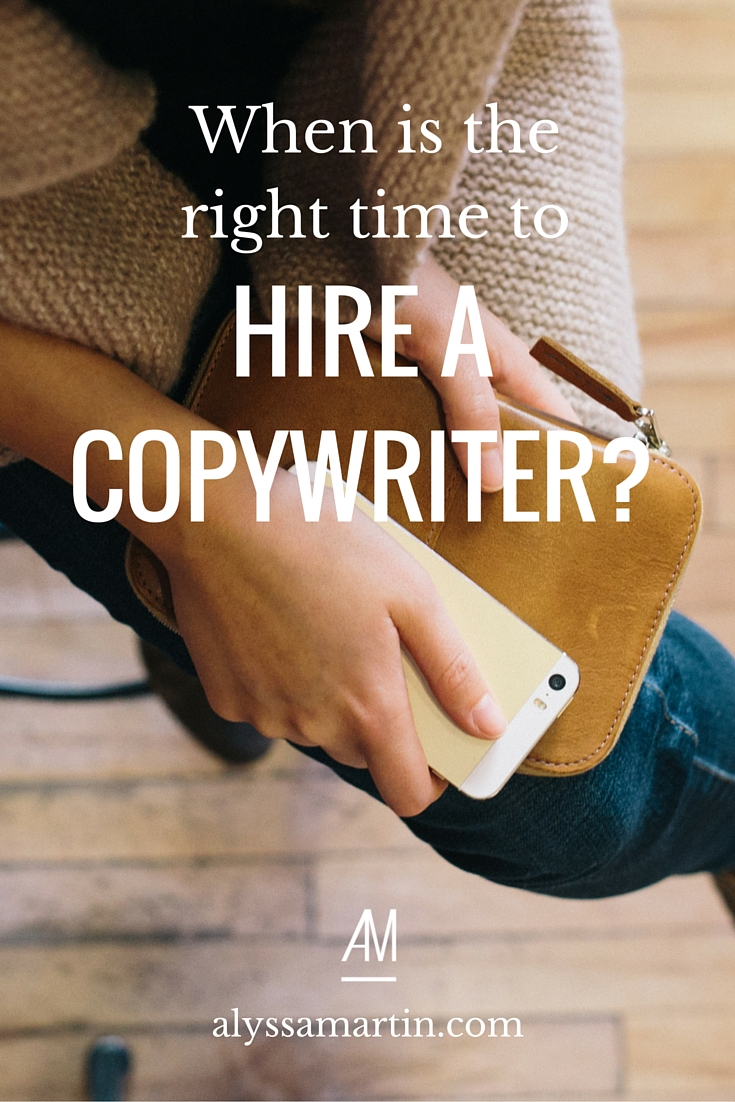 Should you hire a copywriter or write your website copy yourself? Which will be the best investment of time & money for you? Which will get you the results you want? This blog post will help you answer those questions.