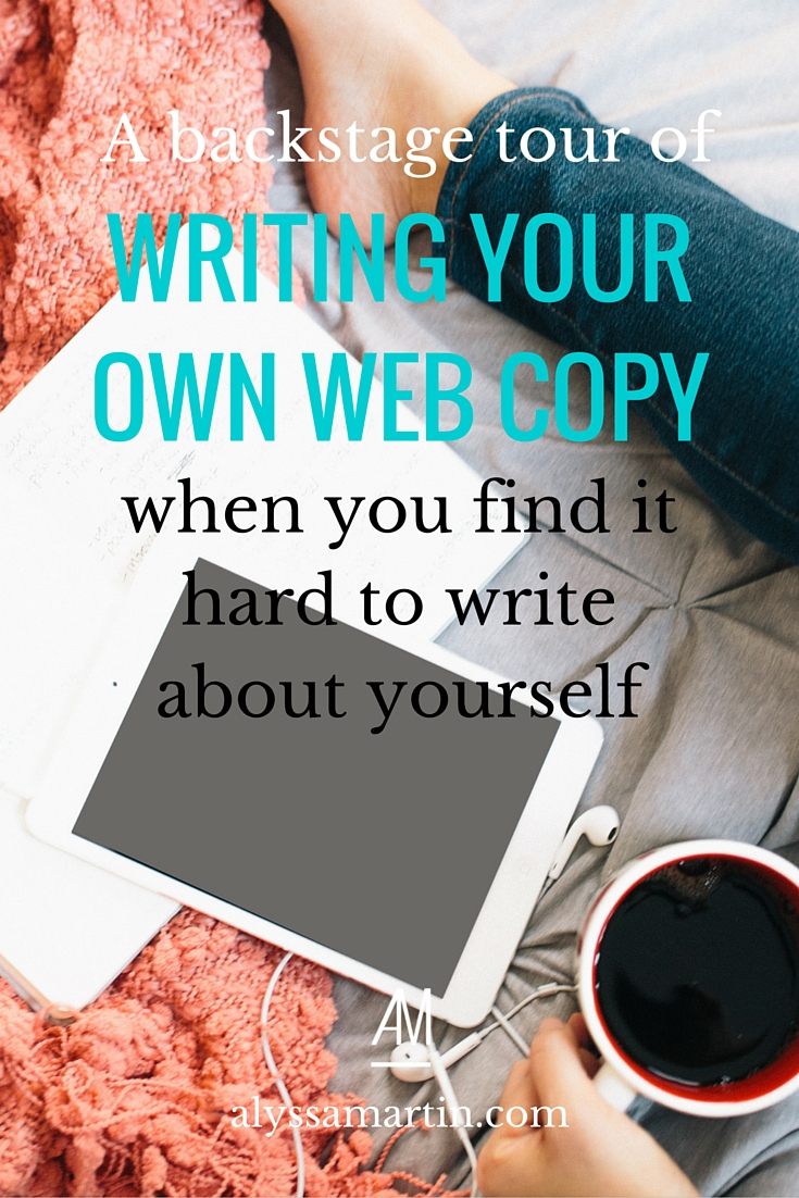 It's a downright struggle to write about yourself in that way because it feels so personal. You can't be objective about it or distance yourself from the result because it feels like your website content is a reflection of you. Today, I'm going to give you a backstage tour of the 13 steps that I took to dramatically re-write my entire website in the lead up to my upcoming rebrand.