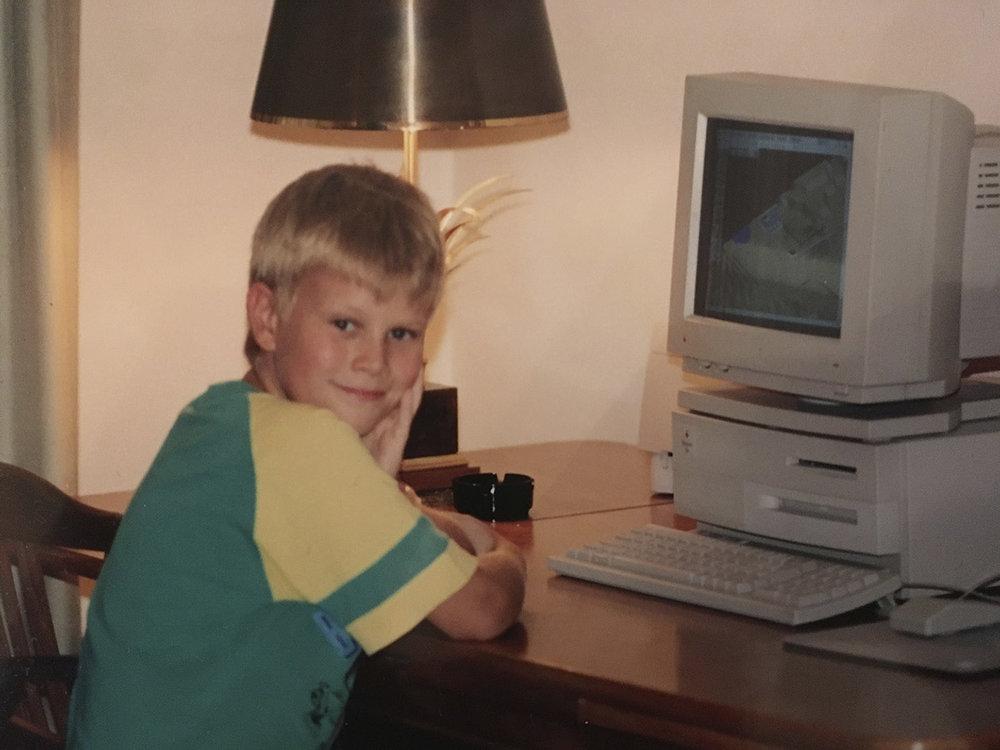 """""""Ich und mein Computer"""" – 1993"""