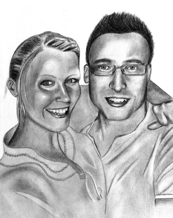 MARIA & RIKARD. GRAPHITE 2013