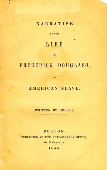 narrative of the life of frederick douglass analytical essay