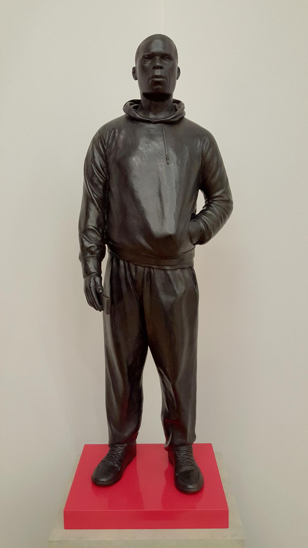 Thomas J Price Plain to See sculpture