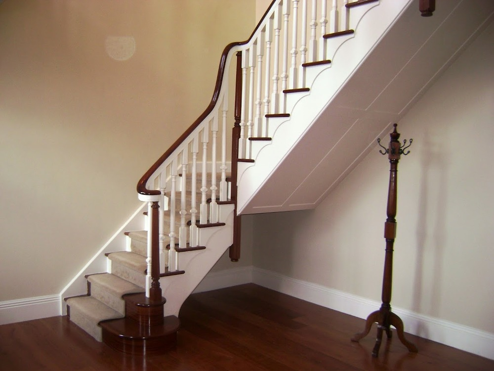 Stairs Ashley Woodworking