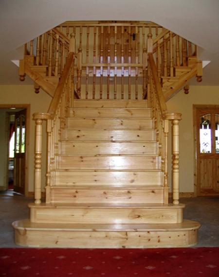 Cut Sring Pine Stairs Ref. ST17u0026nbsp;