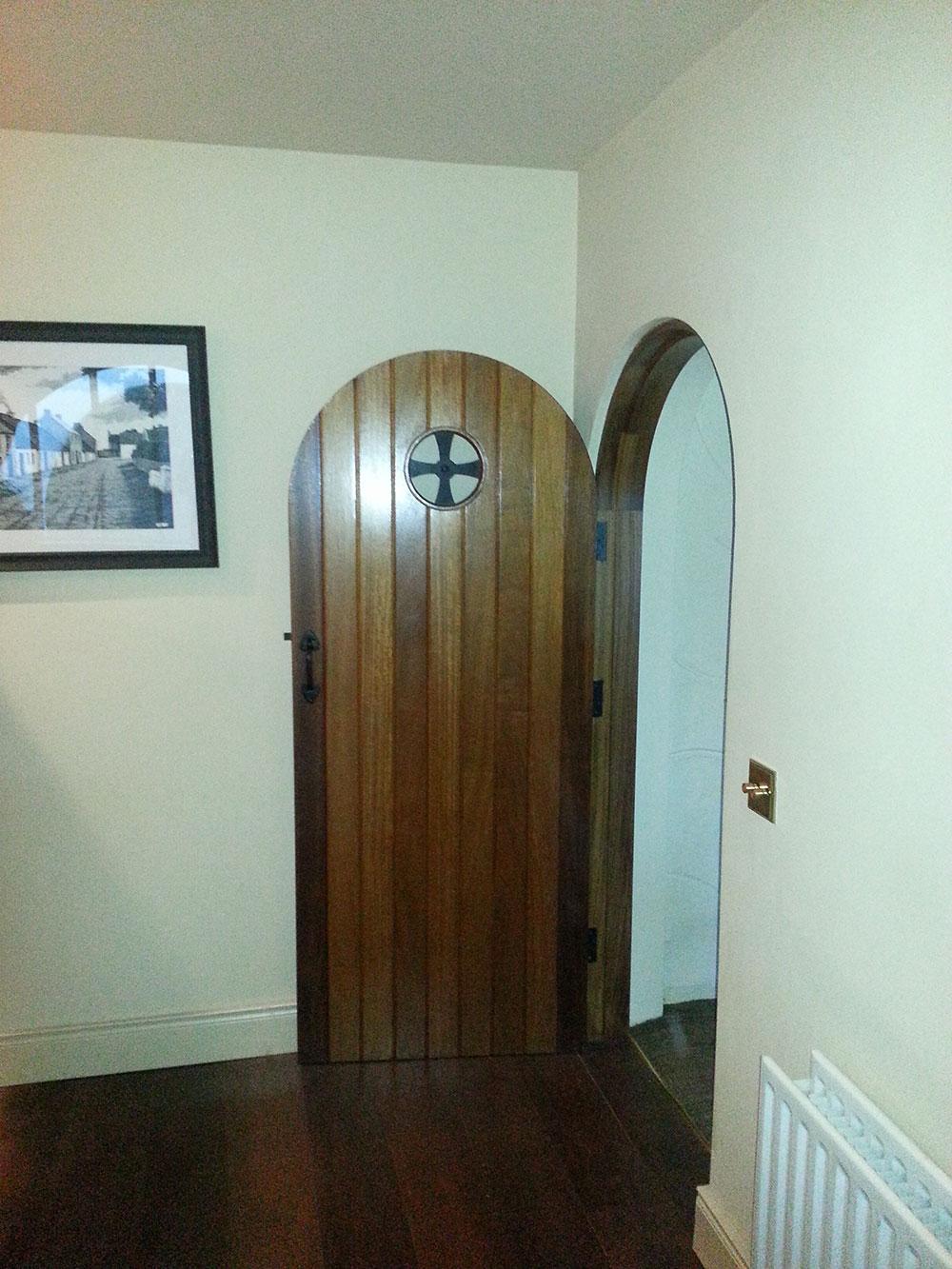 Teak-door-with-porthole-(Doors).jpg & Doors u2014 Ashley Woodworking