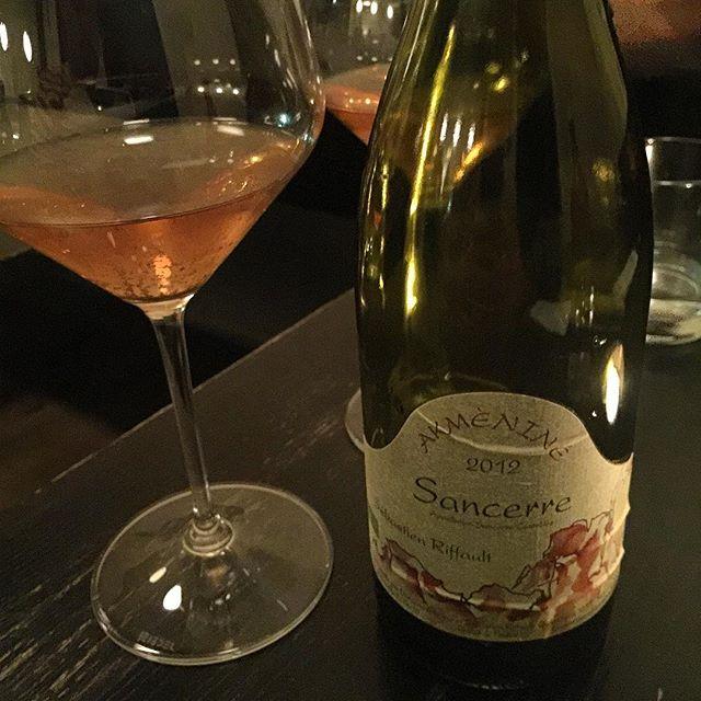 O Boufes 🍷🍽 #vienna #wien #konstantinfilippou  #bistro #wine #naturalwine #sancerre #riffault