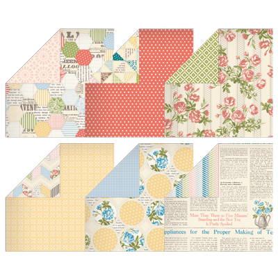 Was $16.95,  now $7.79   (Designer Series Paper for less than 65c a sheet!)