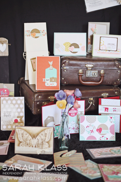 Vintage suitcases make anything swoon-worthy...
