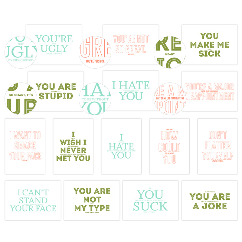 Fine Print Greetings Card Templates - $10.95 - CLICK IMAGE to visit in my online store