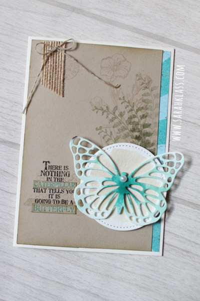Stampin' Up! Butterfly Basics | www.sarahklass.com