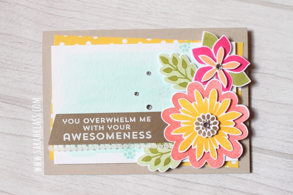 Stampin' Up! Flower Patch | www.sarahklass.com