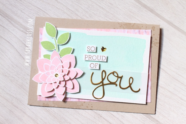 Stampin' Up! Crazy About You | www.sarahklass.com